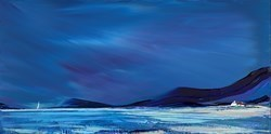 Wide Sky by Duncan MacGregor -  sized 48x24 inches. Available from Whitewall Galleries